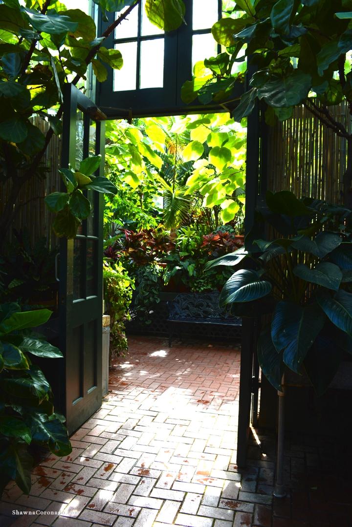 Biltmore Conservatory Doorway