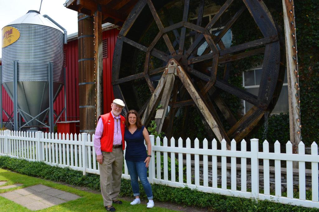 Bobs Red Mill Bob Moore and Shawna Coronado