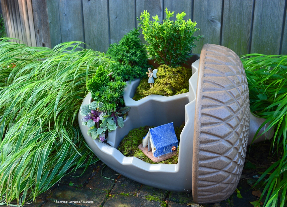 Spectacular Fairy Garden Planting Container