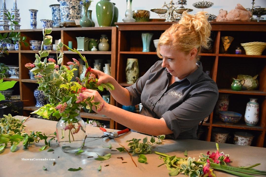 Flower Arranging Biltmore Design