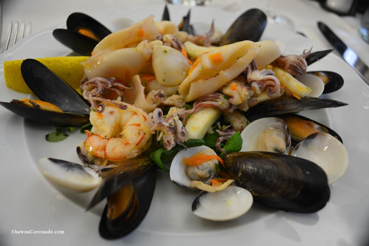 Seafood Salad Lucca Provence Italy