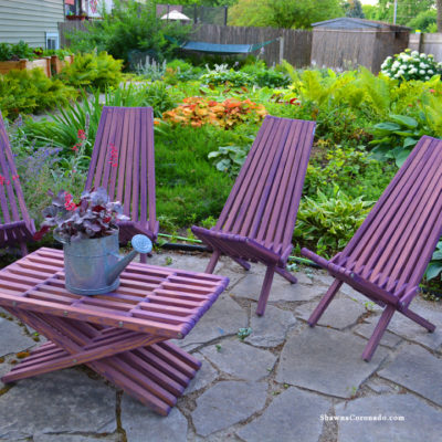 Garden Furniture Color Fun Glodea Product Review