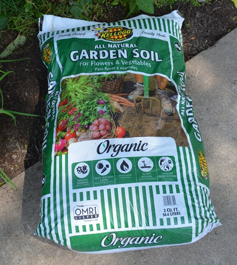 Kellogg garden organics all natural garden soil for flowers vegetables