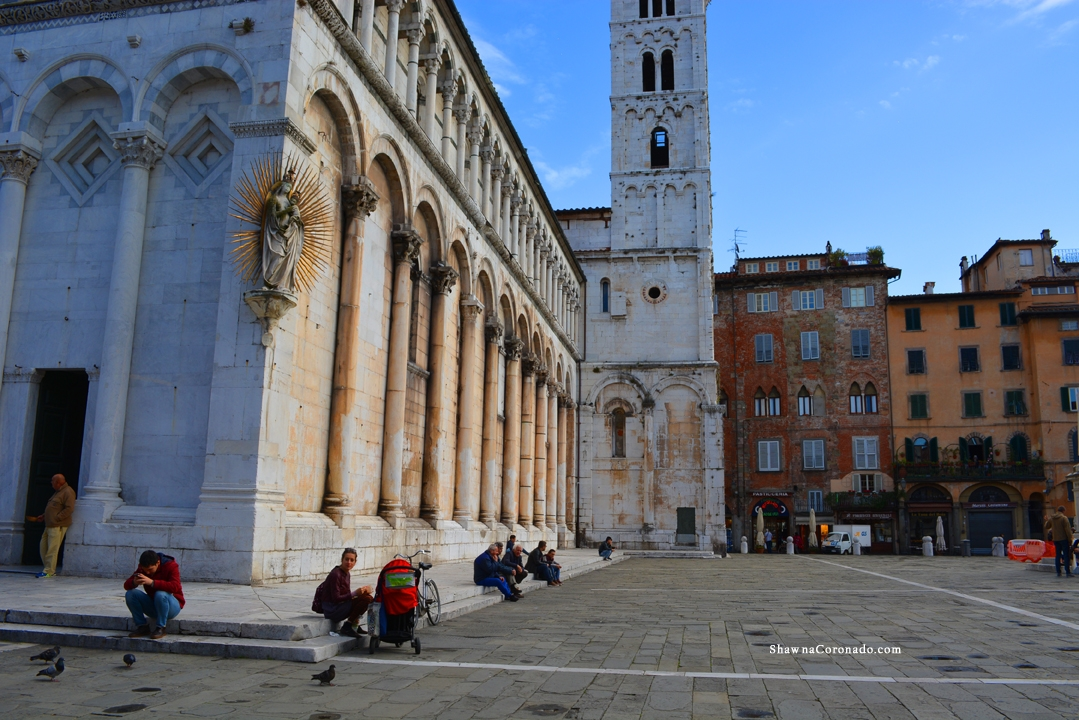 Lucca Catherdral Piazza Antelminelli Lucca Italy