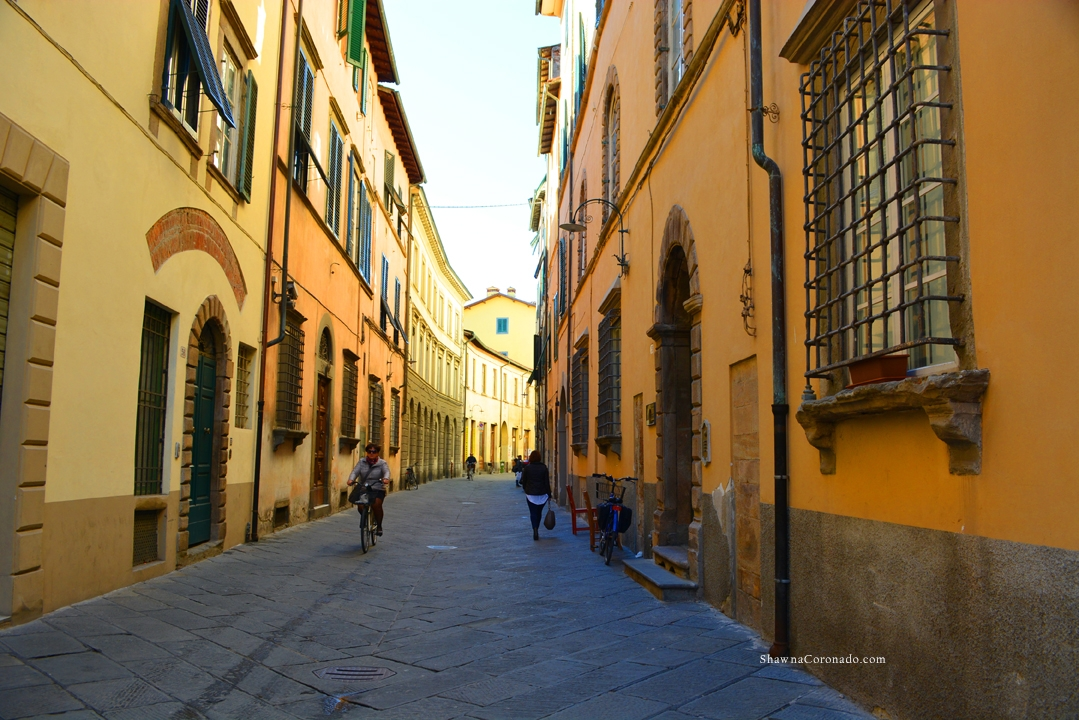 Lucca Italy Streets