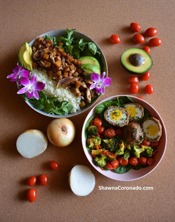 food bowl ideas for coronavirus covid food ration recipe series