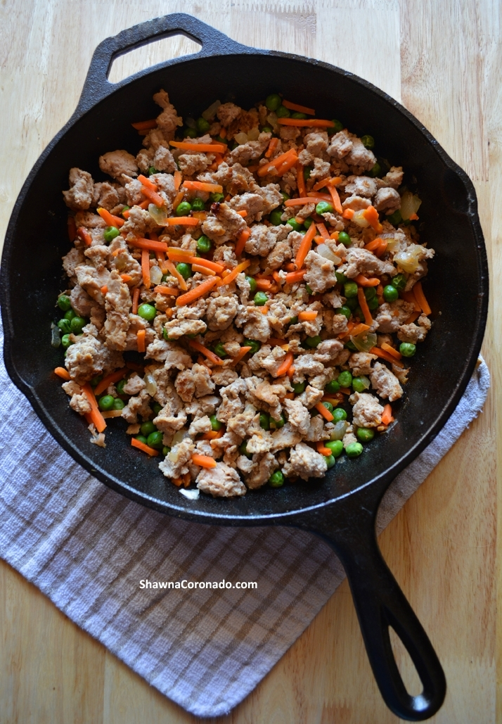 ground turkey meat for coronavirus covid food ration recipe series