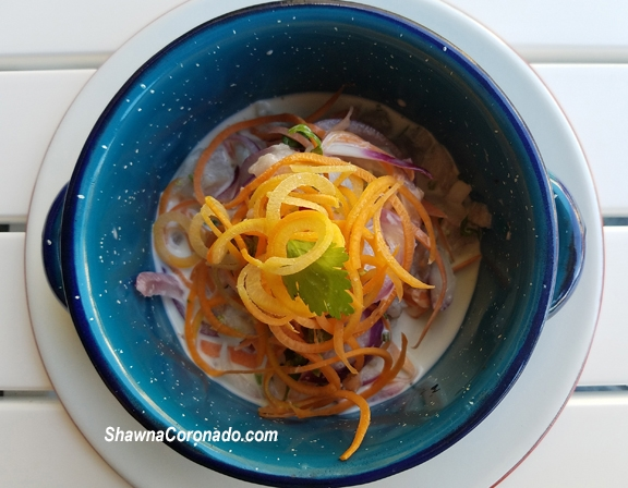 Eating fish and ceviche is good for chronic inflammation