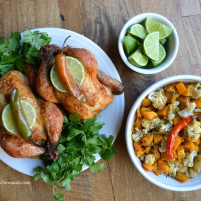 Small Thanksgiving or Christmas Main Course Recipe – Cornish Hens