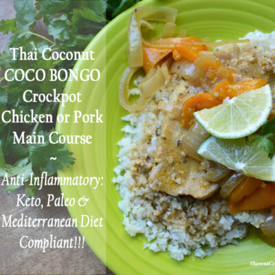 Thai Coconut Coco Bongo Crockpot – Small Thanksgiving or Christmas Main Course Recipe