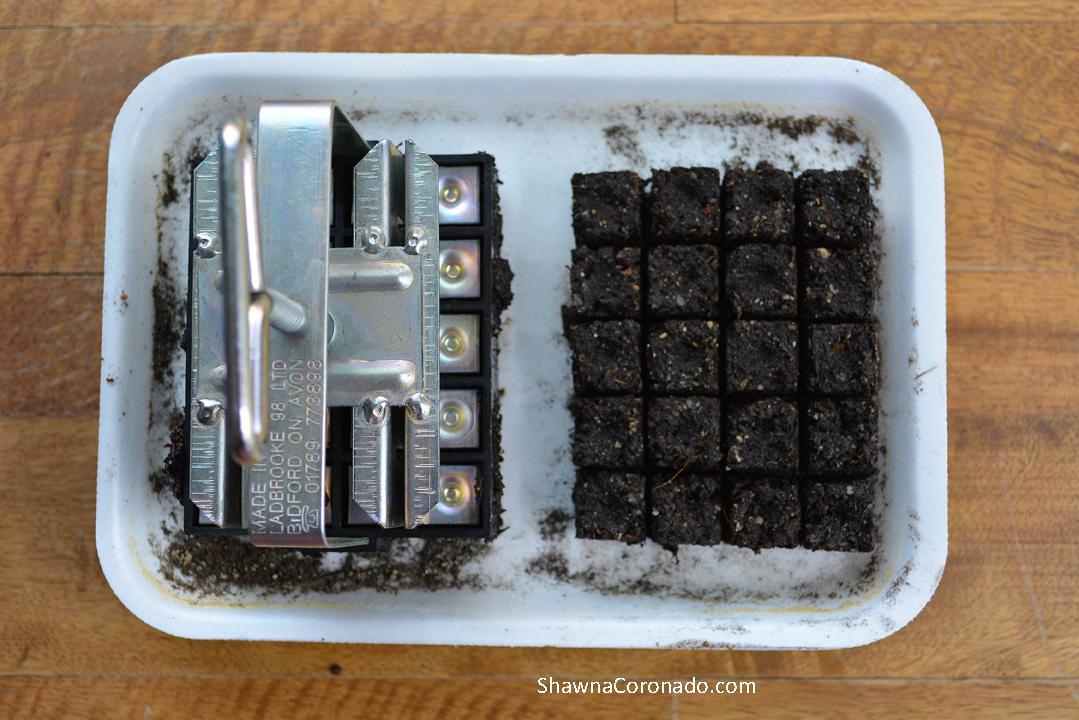 Soil Blocking Seed Starting Blocks