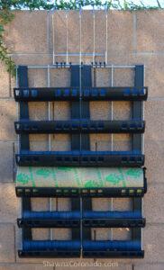 Varden Kit Living Wall on Fence