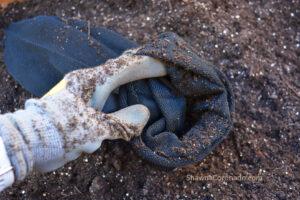 Vardensok filling with soil