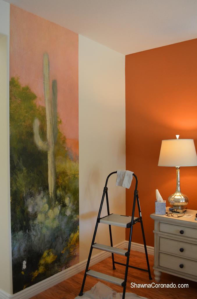 Installing Photowall wallpaper