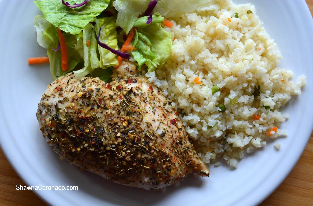 Chicken with Seasoning Mix Recipe