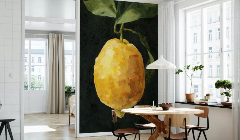 Lemon mural design