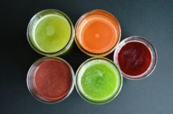 Juicing in Mason Jars copyright Shawna Coronado