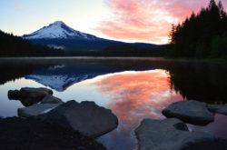Lake Trillium Mount Hood Reflection copyright Shawna Coronado