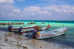 Merida Mexico Fishing Boats